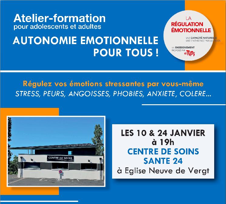 Atelier formation Autonomie émotionnelle pour tous